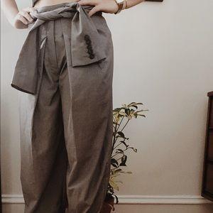 Blazer styled trousers